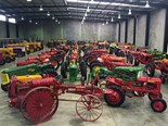 Vintage tractor collection up for auction