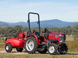The Mahindra 2025 tractor, known in Australia as the JIVO, will be on display at Agritechnica.