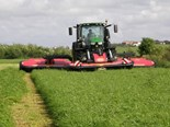 The Vicon Extra 787T mower system