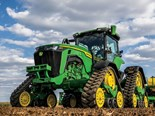 The new John Deere 8RX tractor