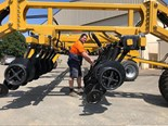 Serafin extends reach with Ultisow High Lift