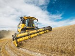 Europe's new New Holland CH7.70 combine harvester to improve throughput