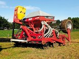 The Moore Unidrill is ideal for undersowing.