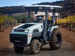 The Monarch Tractor is 100 per cent electric and has zero tailpipe emissions.
