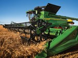 The John Deere X Series of combine harvesters has earned a CES Innovation Award