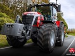 Massey Ferguson's 8 S.265 was named Tractor of the Year 2021