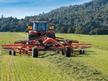 Kuhn GA8731 twin rotor rake Review