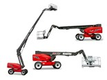 Manitou 260 TJ telescopic platform reaches great heights