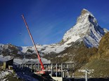 Case study: How a Liebherr crane conquered the Alps