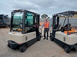 Review: Crown SC6000 electric forklift
