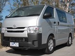 The Toyota HiAce, market leader in the mid-sized van category