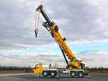 Manitowoc introduces Grove TMS9000-2 truck crane