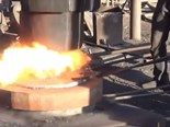 Video: Old-school flange forging