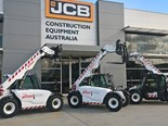 Three JCB 525-60 Agri Plus telehandlers