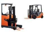 Toyota launches two new battery forklifts