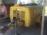 Retro Atlas Copco portable compressor going strong