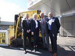 Hyster reveals hydrogen powered forklift