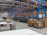 The new warehouse is three times the size of the previous one