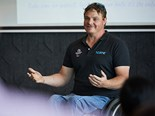 Ben Houlison (pictured) is one of three Paralympic speakers including Nigel Smith and Joany Badenhorst who will be sitting on the icare NSW webinar panel.