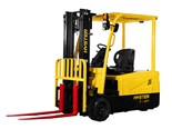 Hyster 3-wheel electric lift trucks join 4-wheel models and complementary tow and pallet trucks.