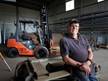 Ki-Ki Engineering co-owner Laurens Verhees has bought a Toyota 8FD30 forklift to double the company's capacity.