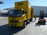 Fuso Fighter FN 63 6x2 rigid truck.