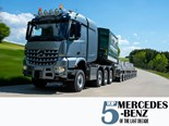 Top five Mercedes-Benz Trucks from the last decade