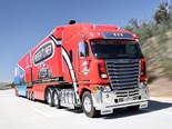 Taking a drive with Brad Jones Racing's Freightliner Argosy
