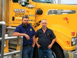 People in trucking: Dave Clark and a 2004 Kenworth T650