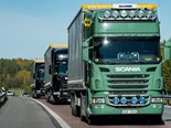 Cross-country truck platooning challenge begins in Europe