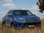The HiLux SR5 Extra Cab getting its legs dirty.
