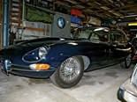 In the shed: Jaguar E-Type