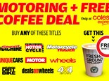 Buy Unique Cars magazine and receive a free small coffee!