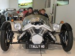 Morgan 3-wheeler heads north