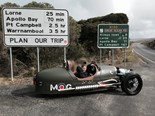 Morgan 3-Wheeler adventure: Day 1
