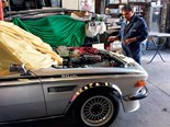 BMW E9 3.0 CSL: In the shed
