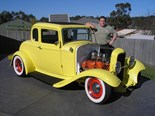 Greg Hardy's 1932 Ford Coupe