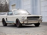 Barn Find Shelby GT350 Sells at Bonhams Concours d'Elegance Auction