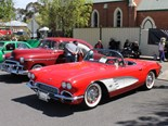 This 61 Corvette, owned by Russell Pell, won the top trophy.