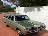 Wednesday Warrior: 1960s Pontiac Parisienne wagon