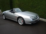 Alfa Spider packs a fair bit of power and luxury.