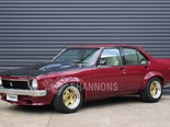 This Torana A9X sedan pulled strong bidding.