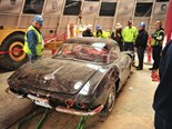 Sinkhole Corvette restoration begins