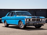 Allan Moffat drives the Ford Falcon GTHO Phase III