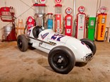 1950 Sampson Indy car pulling strong bids