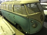 VW Kombi Samba 23-window - today's tempter