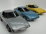 Trio of collectible Mazda RX-7s up for auction