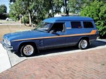 Holden HZ panel van - todays tempter 1