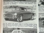AC Aceca + Facel Vega + 'Vette Sting Ray - The Cars That Got Away 400