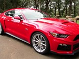 Mustang with Roush upgrades